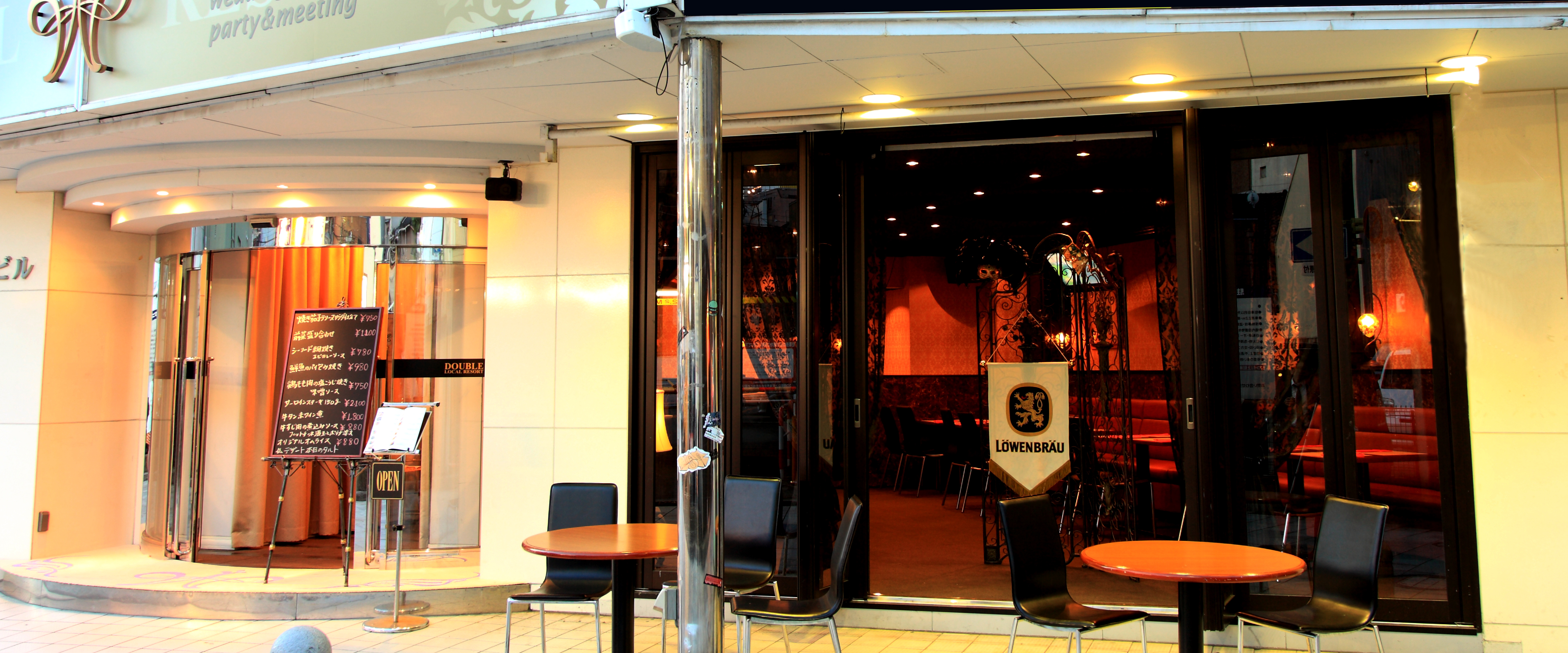 石川県金沢市の2次会やパーティーなどを行うマルチスペースダブルの店舗写真